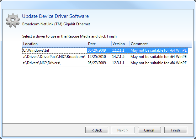 Hp Winpe Driver Pack