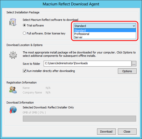 v5: How to download and install a trial of Macrium Reflect (Download, Installer, Trial)