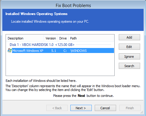 v5: How to fix Windows boot problems (Restore, Windows PE)